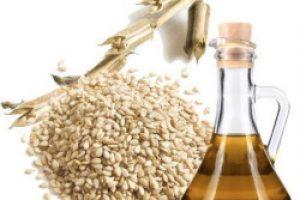 Aceite de semillas de sesamo para eliminar las estrias