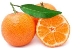 Aceite de mandarina para las estrias