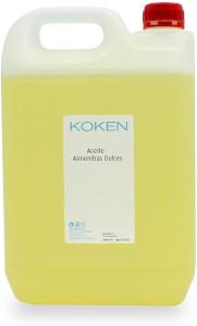koken 5 litros aceite almendras dulces estrias